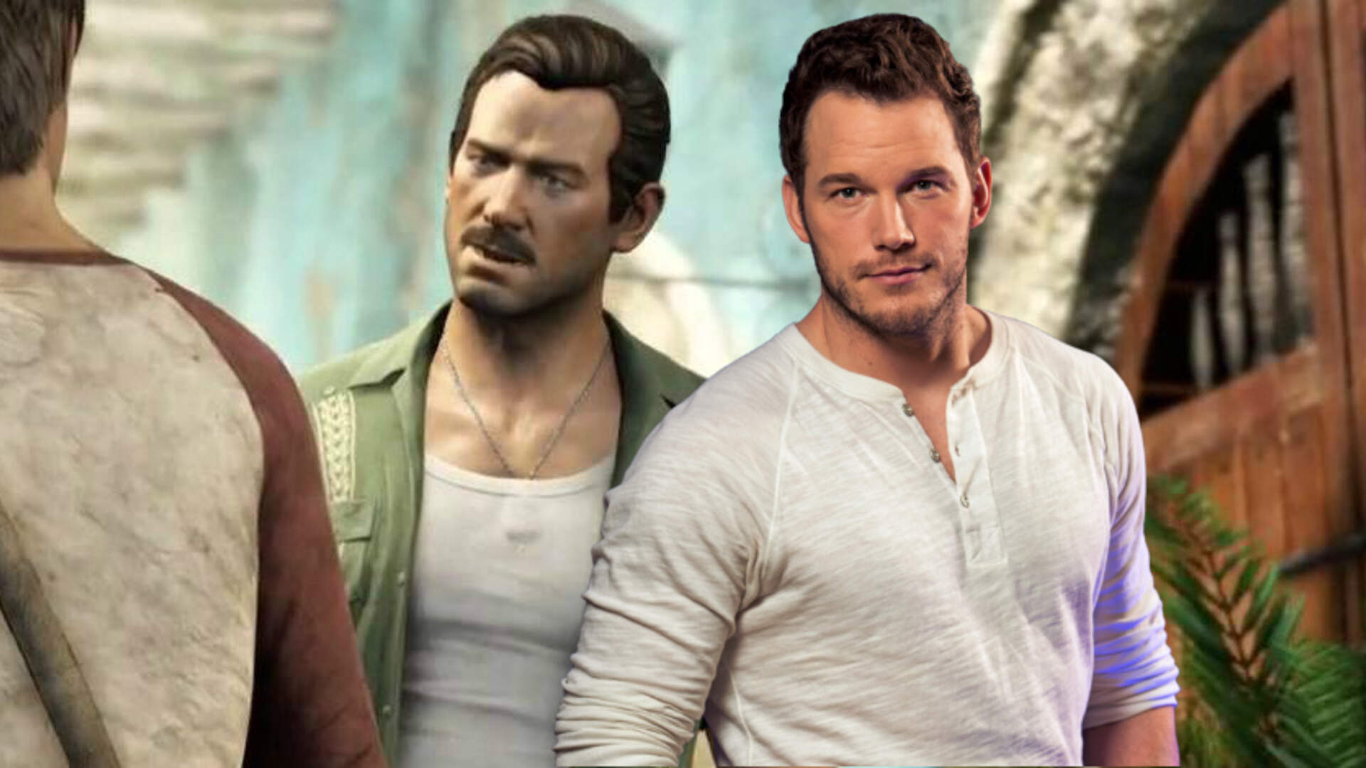 Uncharted Film Star Fancasts Chris Pratt as a Young Sully