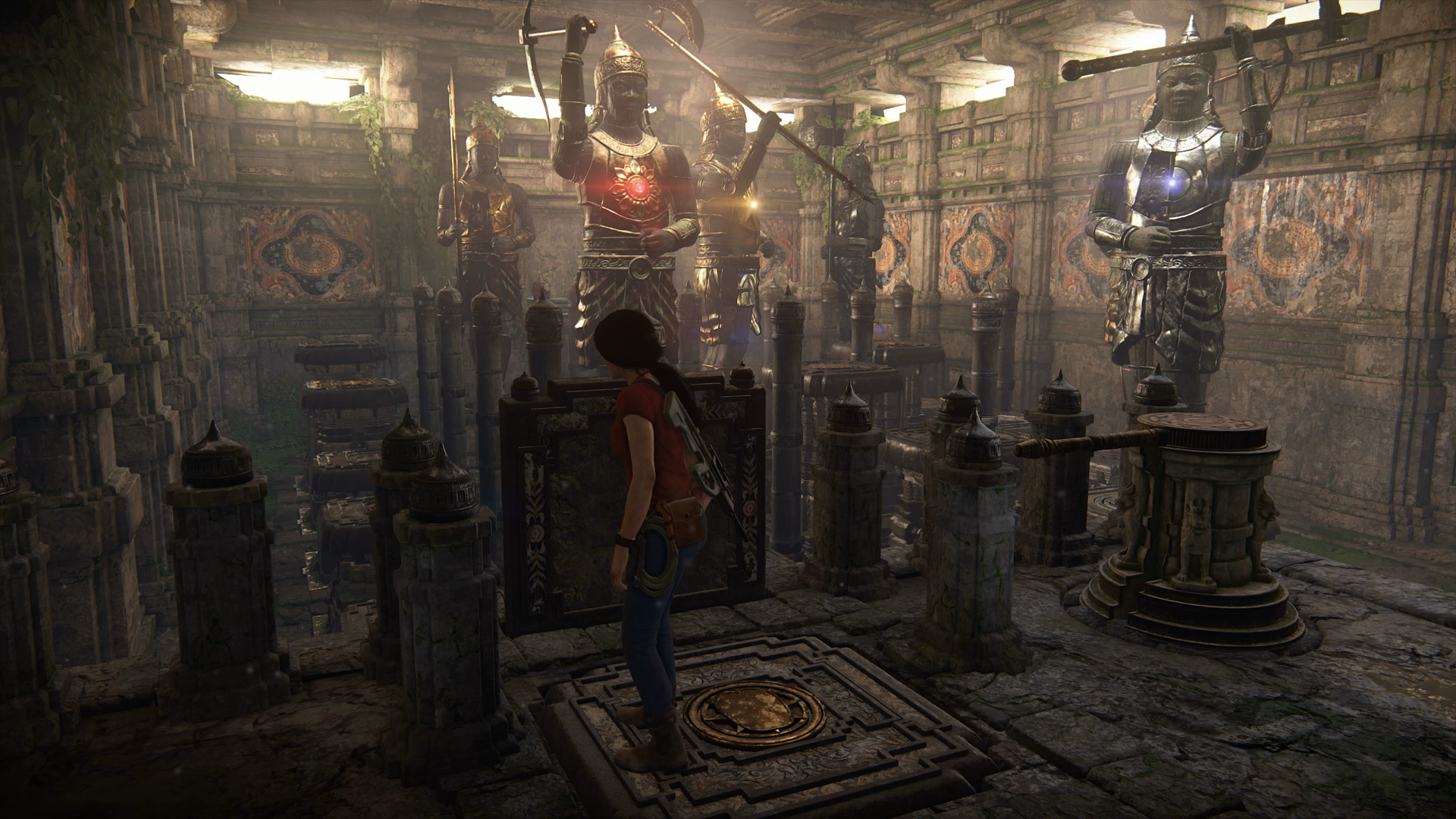 Uncharted: The Lost Legacy Axe Statue Puzzles - Chapter 4 ...