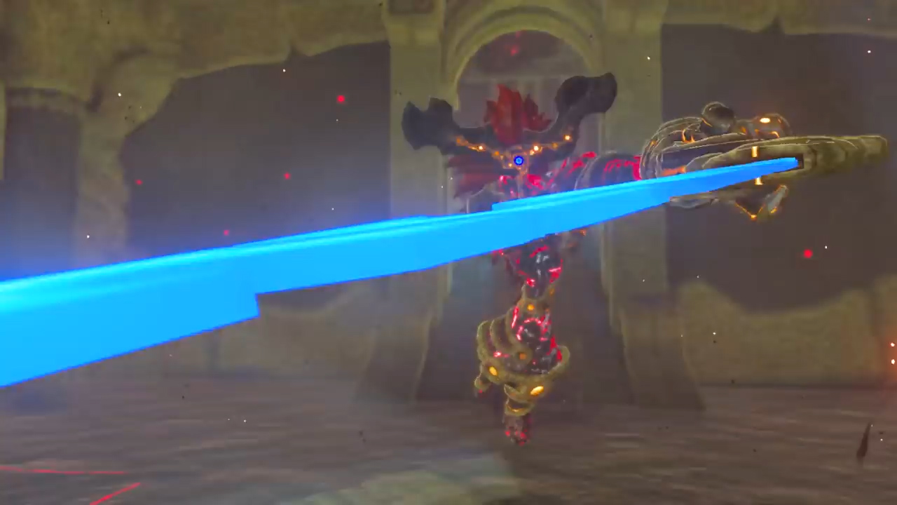 Zelda Breath Of The Wild Waterblight Ganon Boss How To