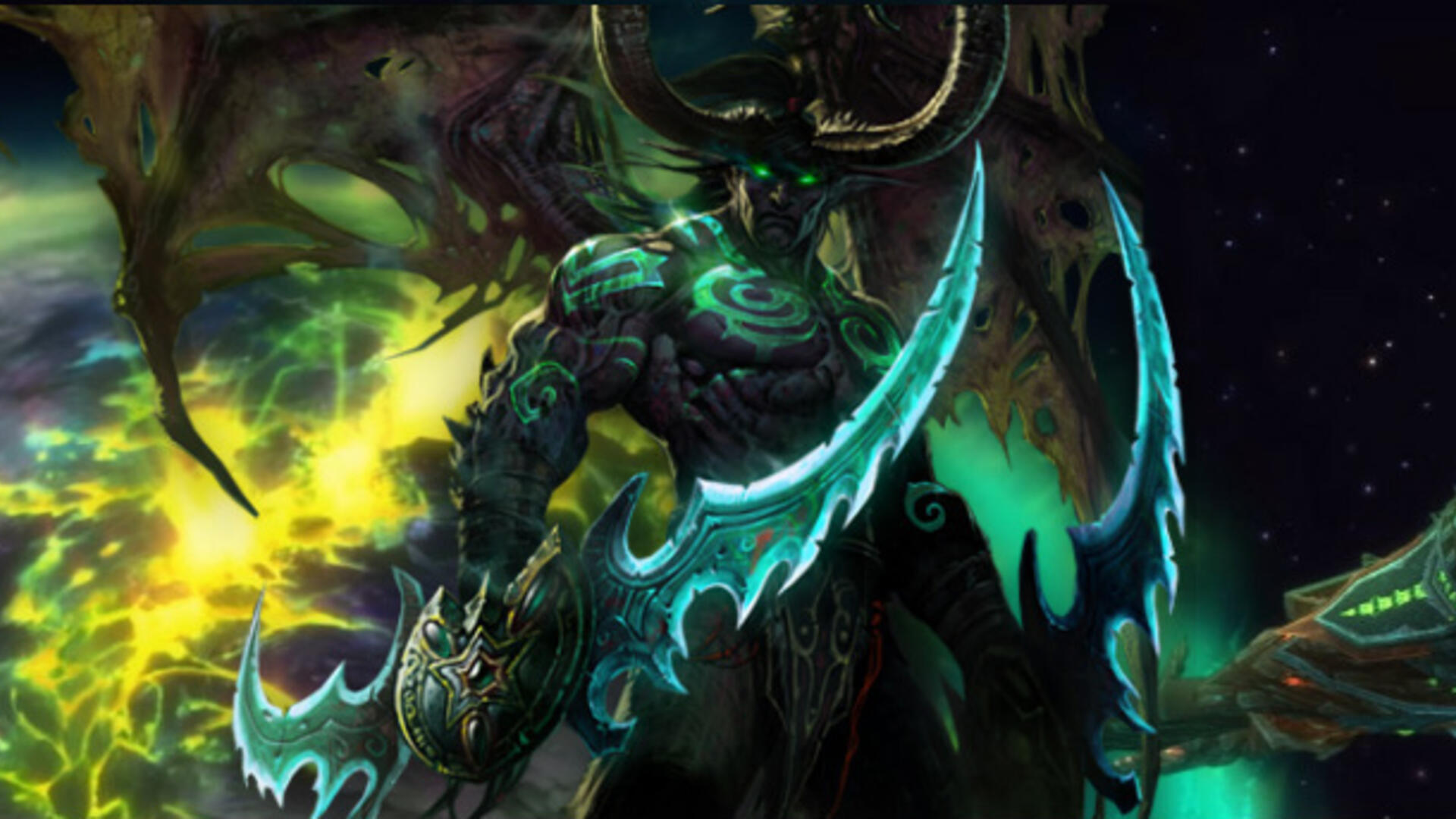 World of Warcraft Goes To Space To Fight The Burning Legion