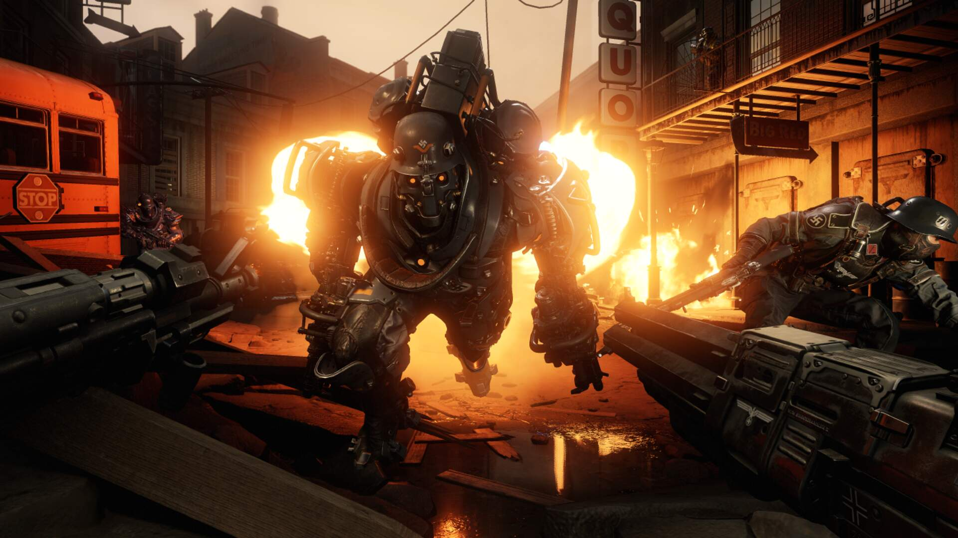 Wolfenstein 2 The New Colossus New Gameplay Release Date