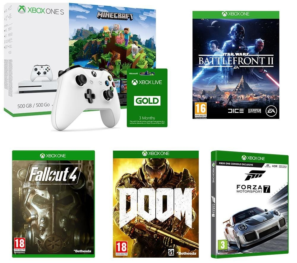 Xbox One S Black Friday Sale Deal - Incredible £250