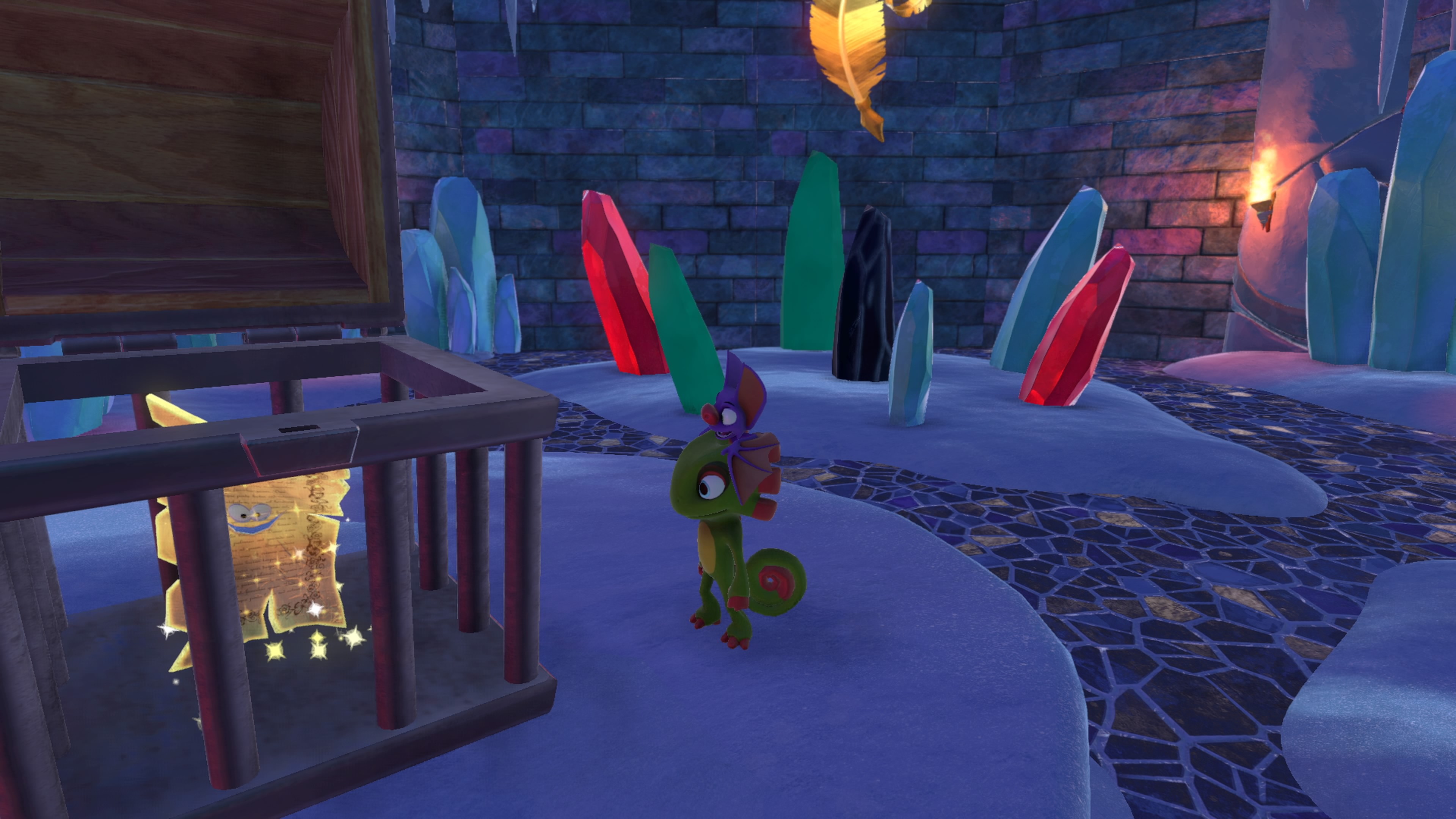 Image result for yooka laylee pagies