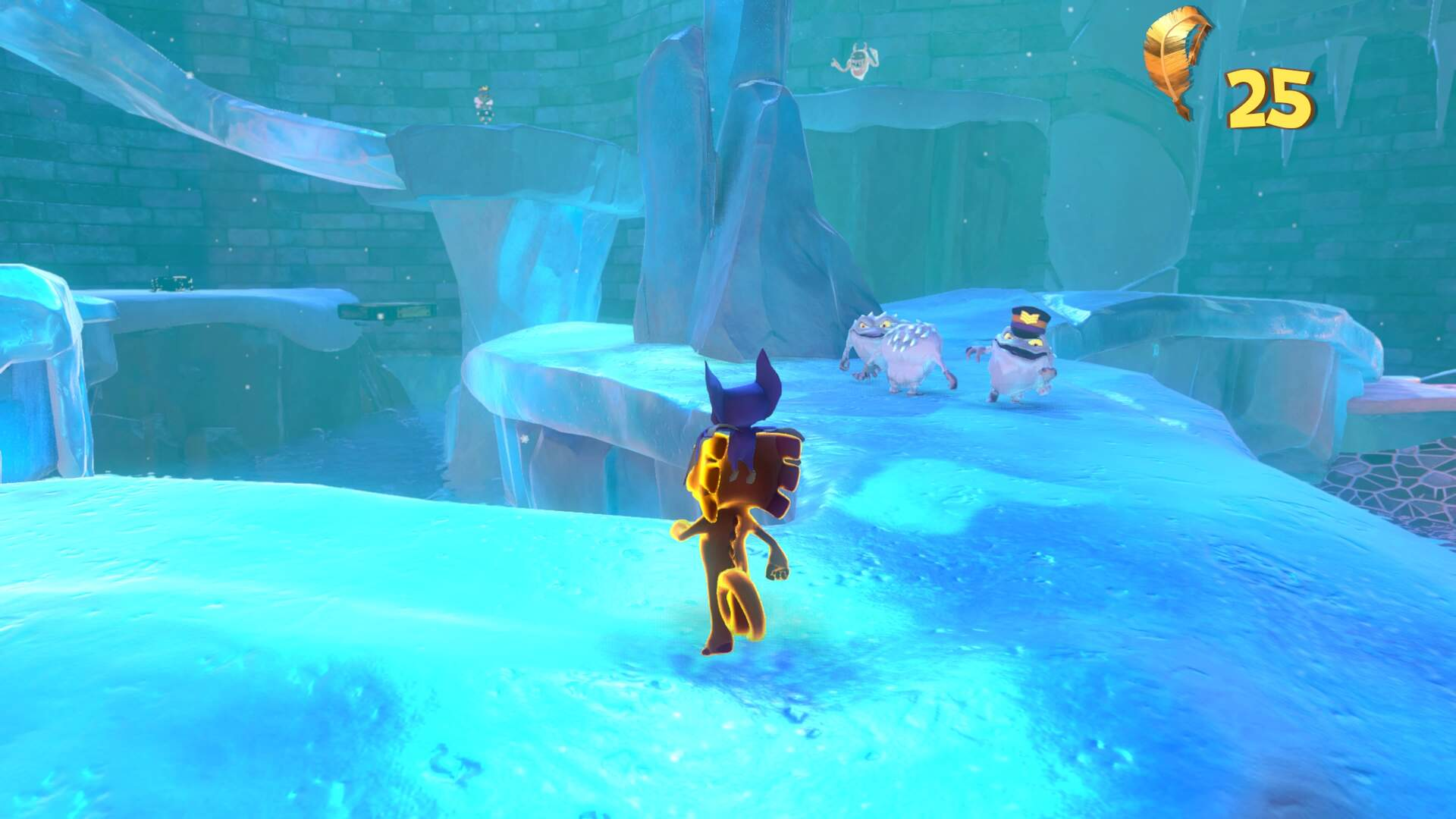 Yooka Laylee Glitterglaze Glacier - Pagie Locations, Snowmen, Beat Brrreeze Blok World 2 Boss, Hot Tub Puzzle, Butterfly Heart, Power Extender, Play Coin, Mollycool