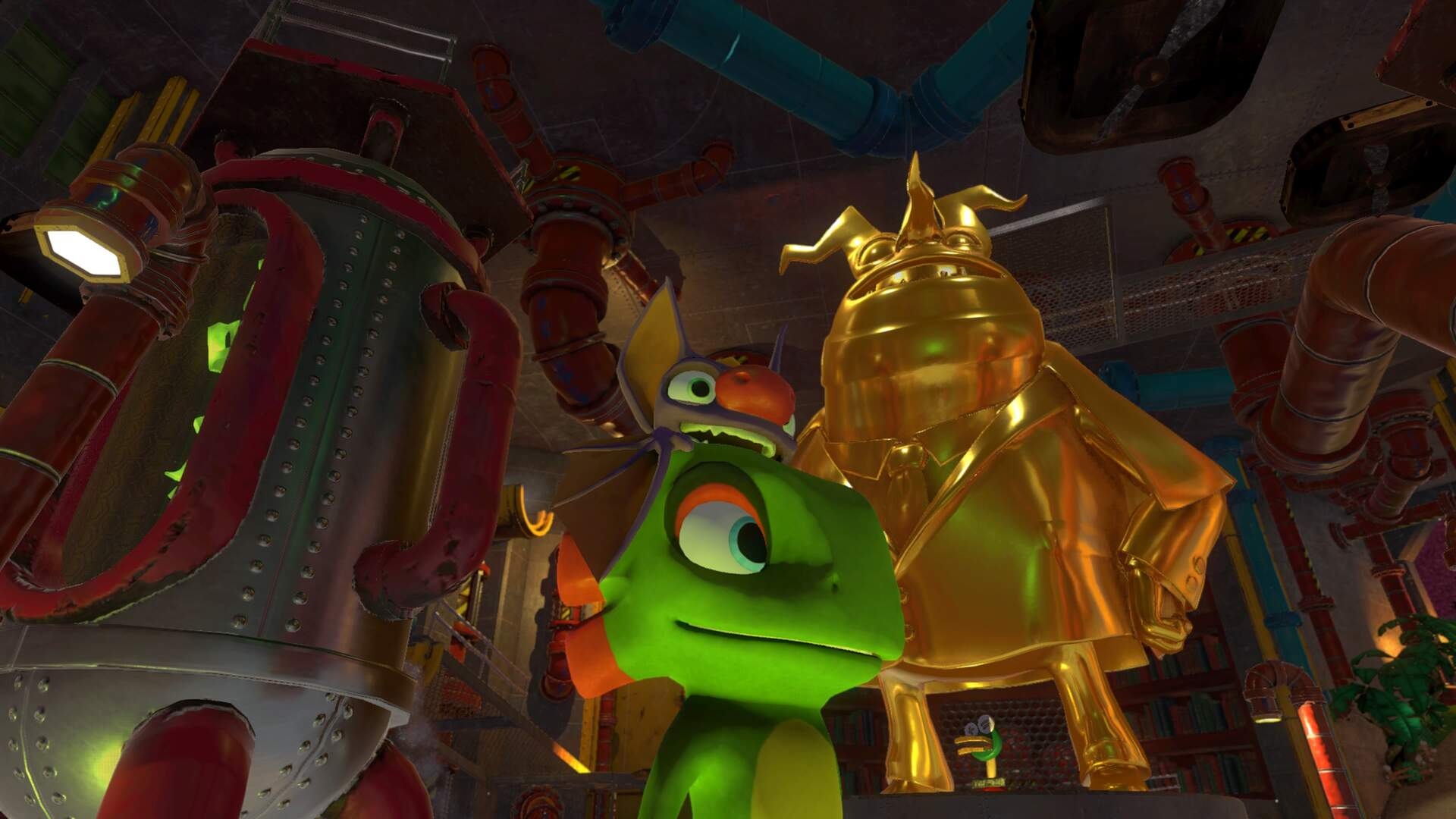 Yooka Laylee Hivory Towers - Pagie Locations, Butterfly Heart, Power Extender