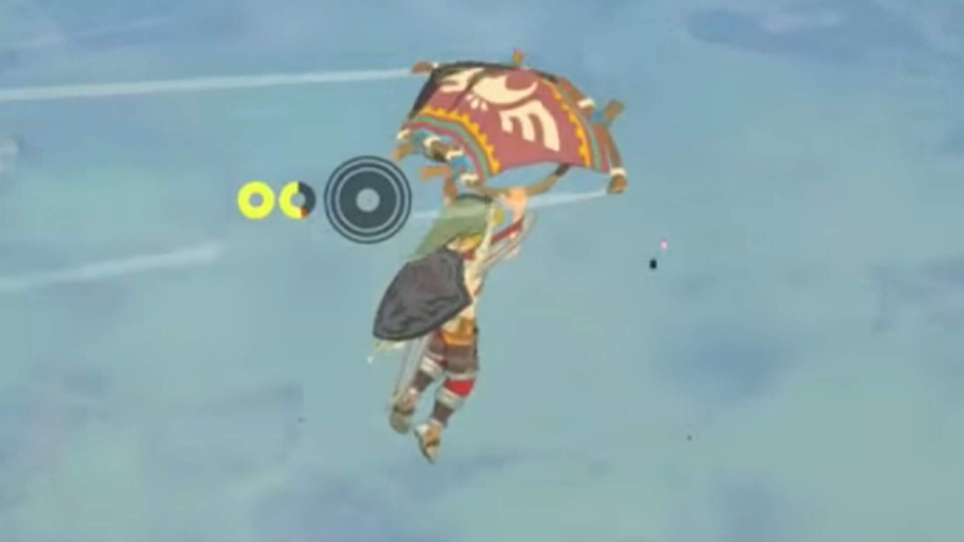 Zelda Breath of the Wild Player Flies Across Hyrule Via the Power of Magnets