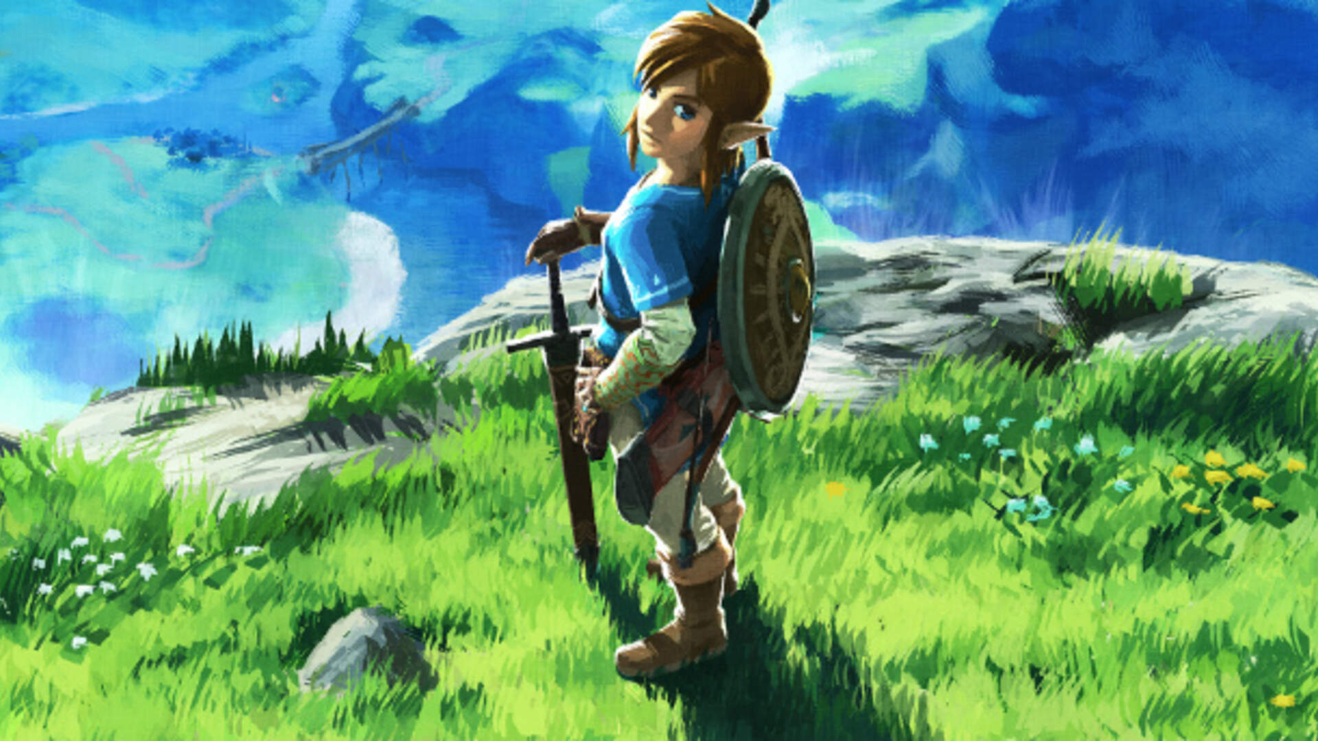 Zelda: Breath of the Wild Wasn't a Reality on Switch Until Spring of Last Year