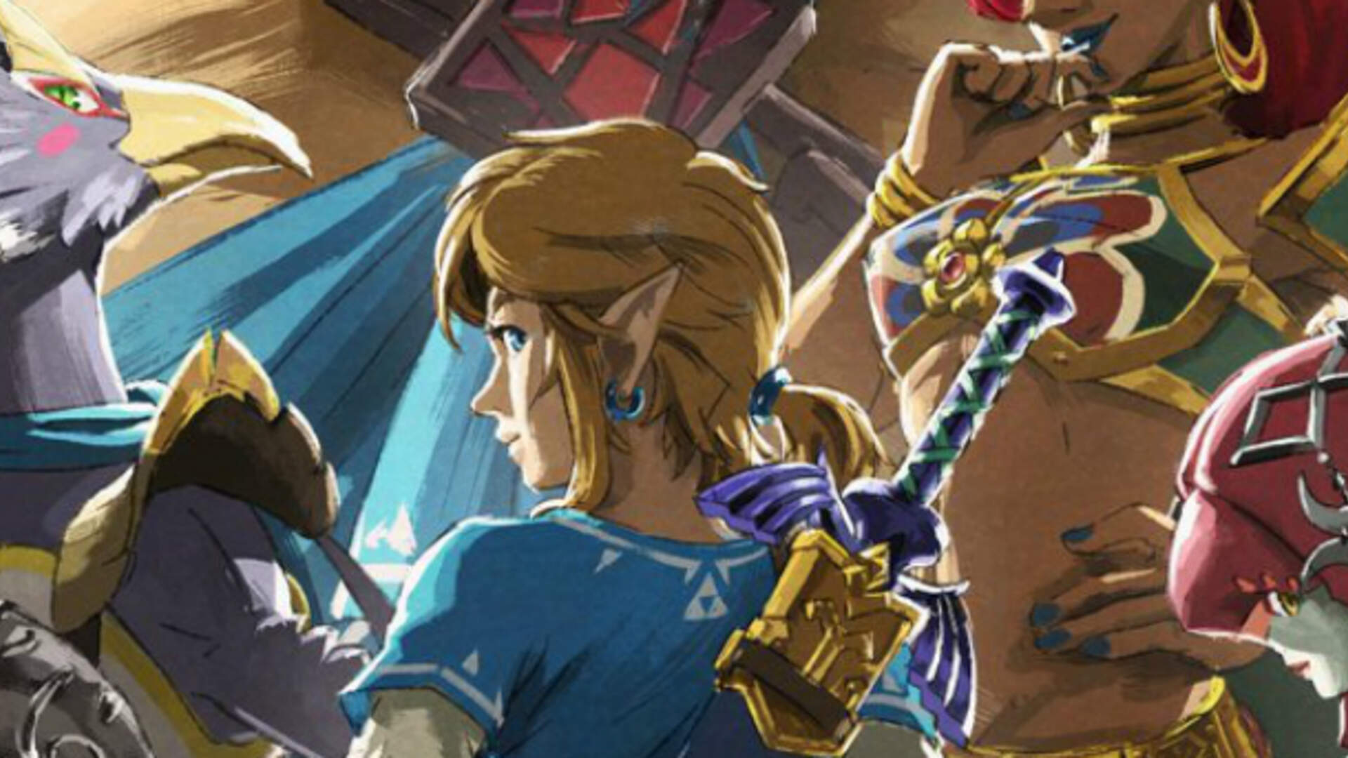 Zelda Breath Of The Wild Champion S Ballad Dlc Is Available