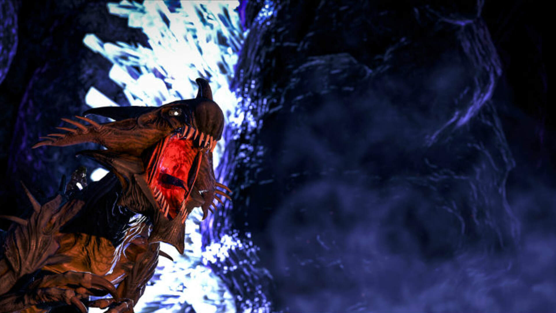 ARK: Survival Evolved's New Aberration Expansion Looks Gross in a Good Way