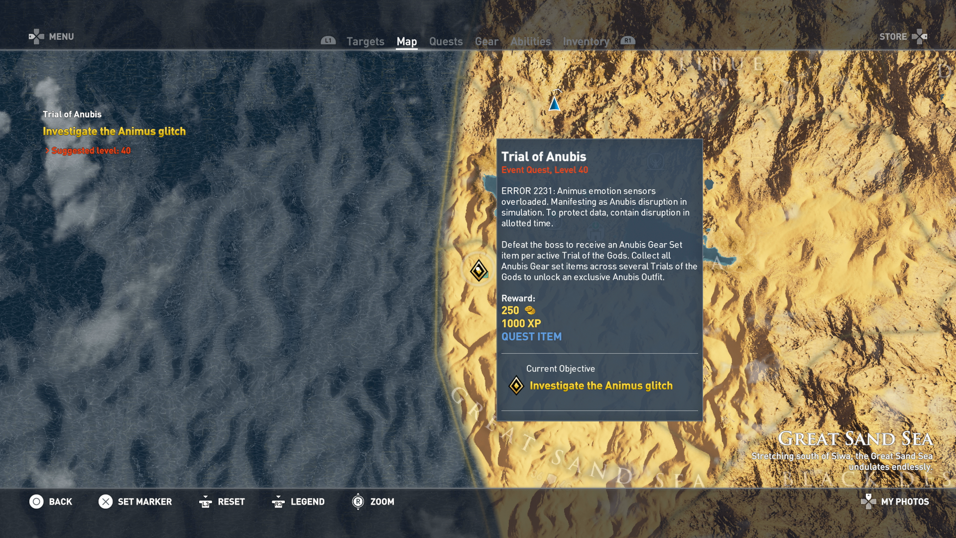 Assassin's Creed Origins Trials of the Gods Guide - How to