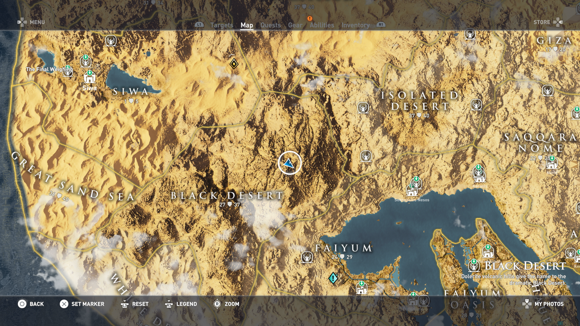 Assassin S Creed Origins Hermit Hideout Locations How To Find Every Hermit Site On The Map Usgamer