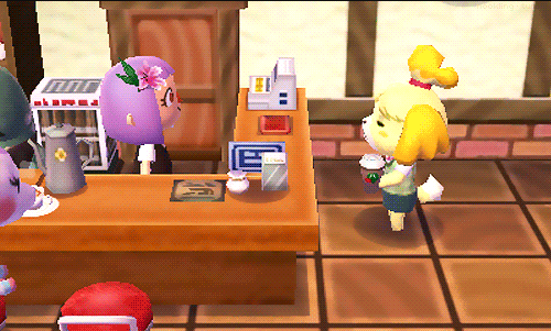 Animal Crossing New Leaf Isabelle Coffee