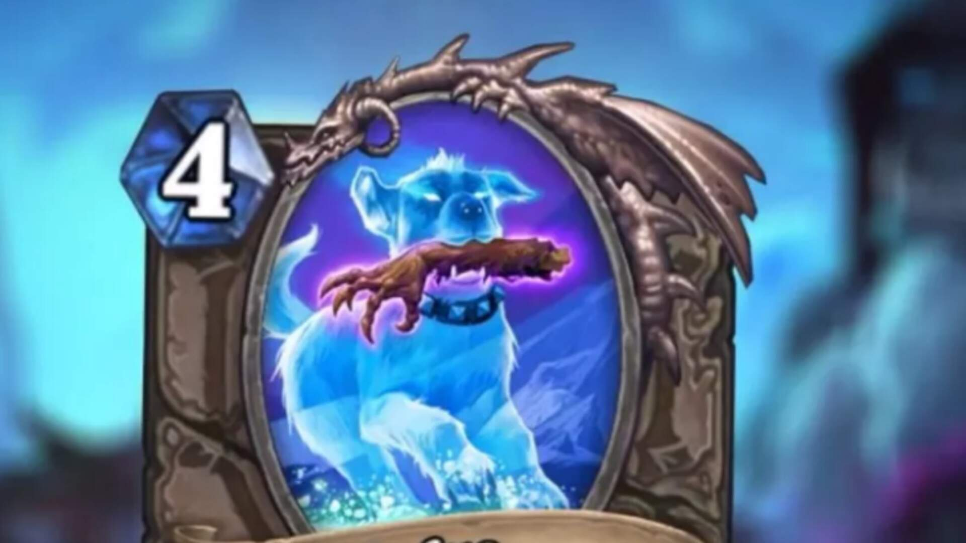 Hearthstone Knights of the Frozen Throne's Good Boy Dog Card is Winning Over Fans and Players