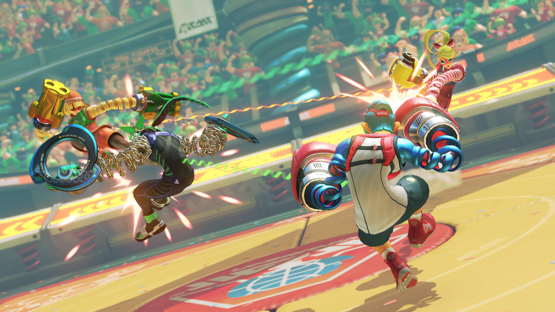 Arms - Reviews, Release Date, Price, Characters, Modes, Unlockables - Everything We Know