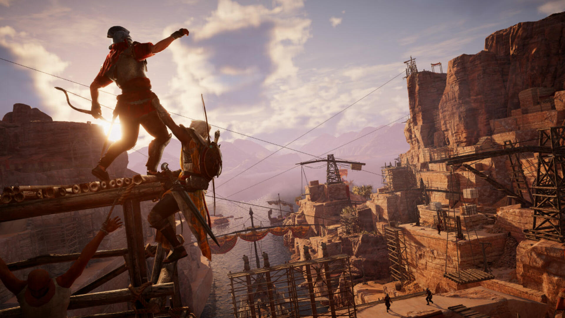 Assassin's Creed Origins Will Release Free Updates and the First Major Expansion in January