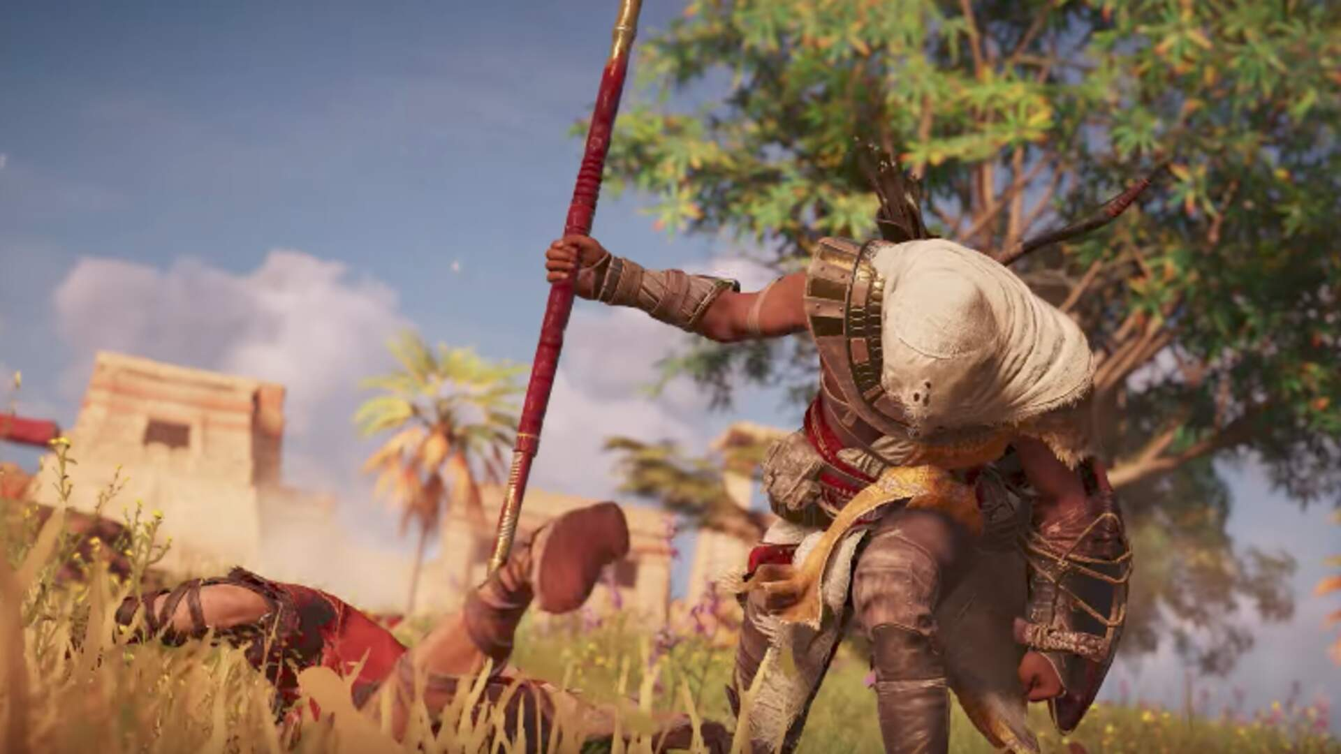 Bayek is Now an Unlockable Character in Assassin's Creed Odyssey