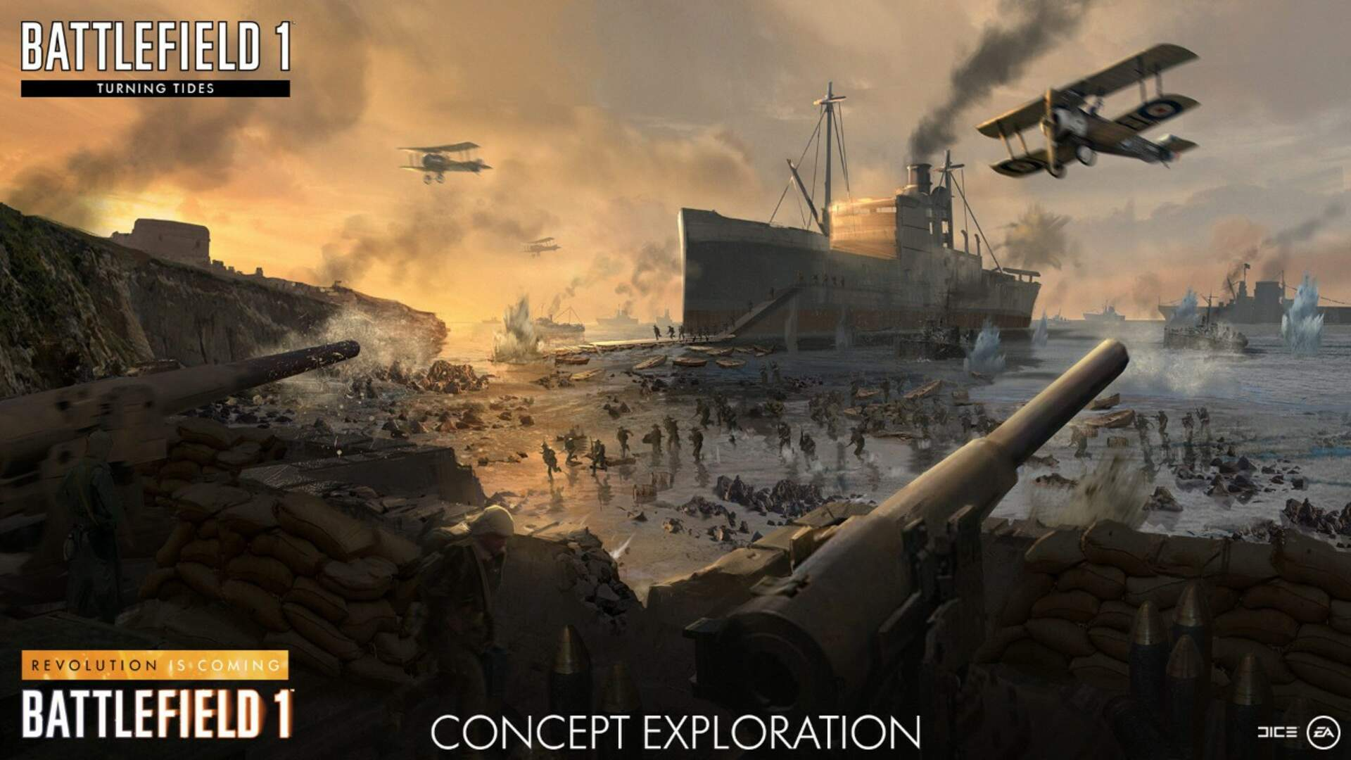 Battlefield 1 Turning Tides Guide Release Date All New Maps