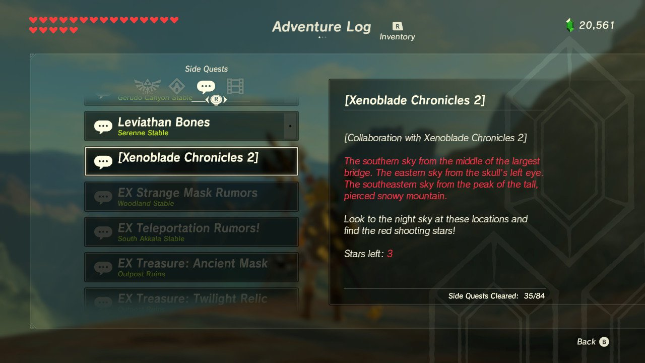 zelda xenoblade chronicles 2