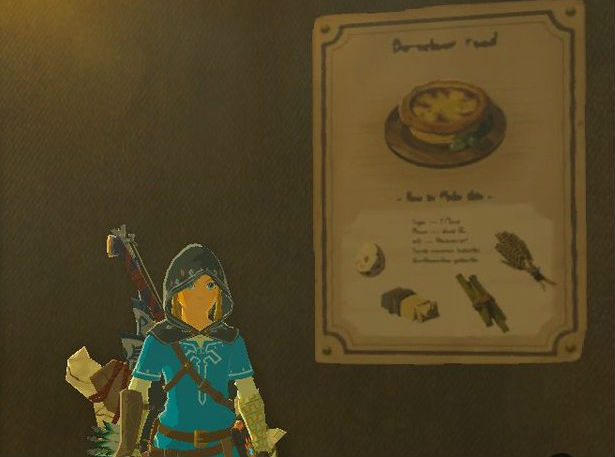 Here are the coolest things people have discovered about zelda not sure what to cook for dinner tonight stop by your local stable each one has a recipe hanging on its wall mmmrice balls with mushrooms forumfinder Choice Image
