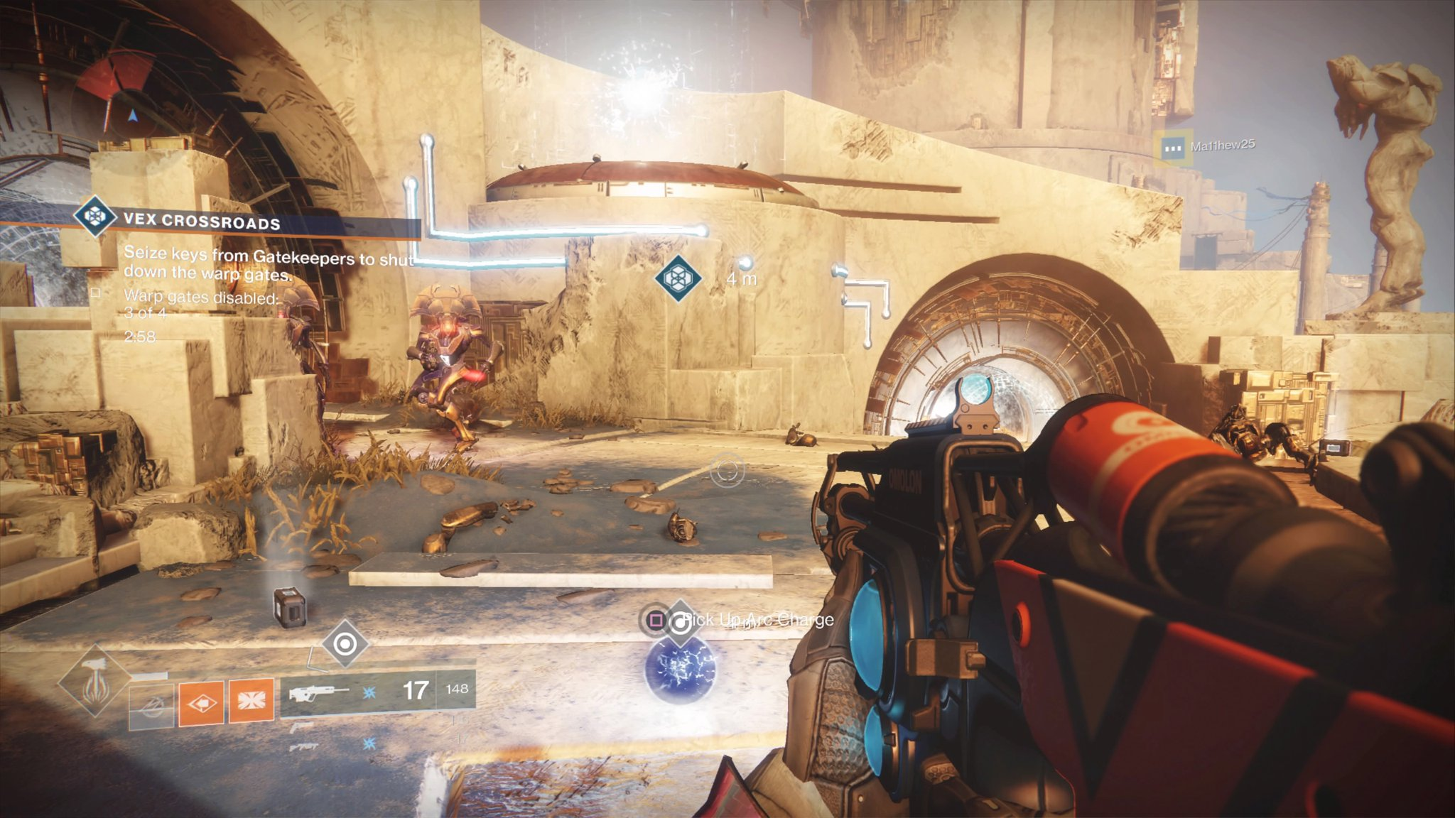 Destiny 2 charge time