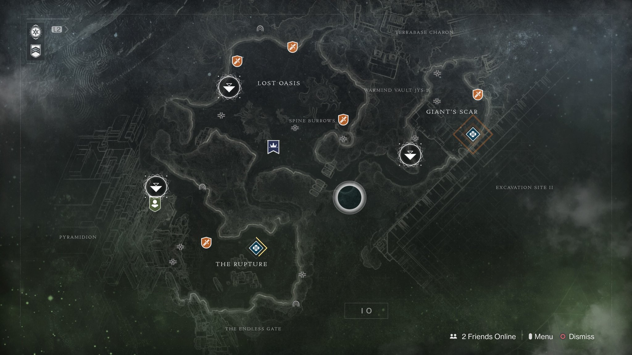 Destiny 2 lost sector locations guide all lost sector rewards destiny 2 io lost sectors locations gumiabroncs Gallery