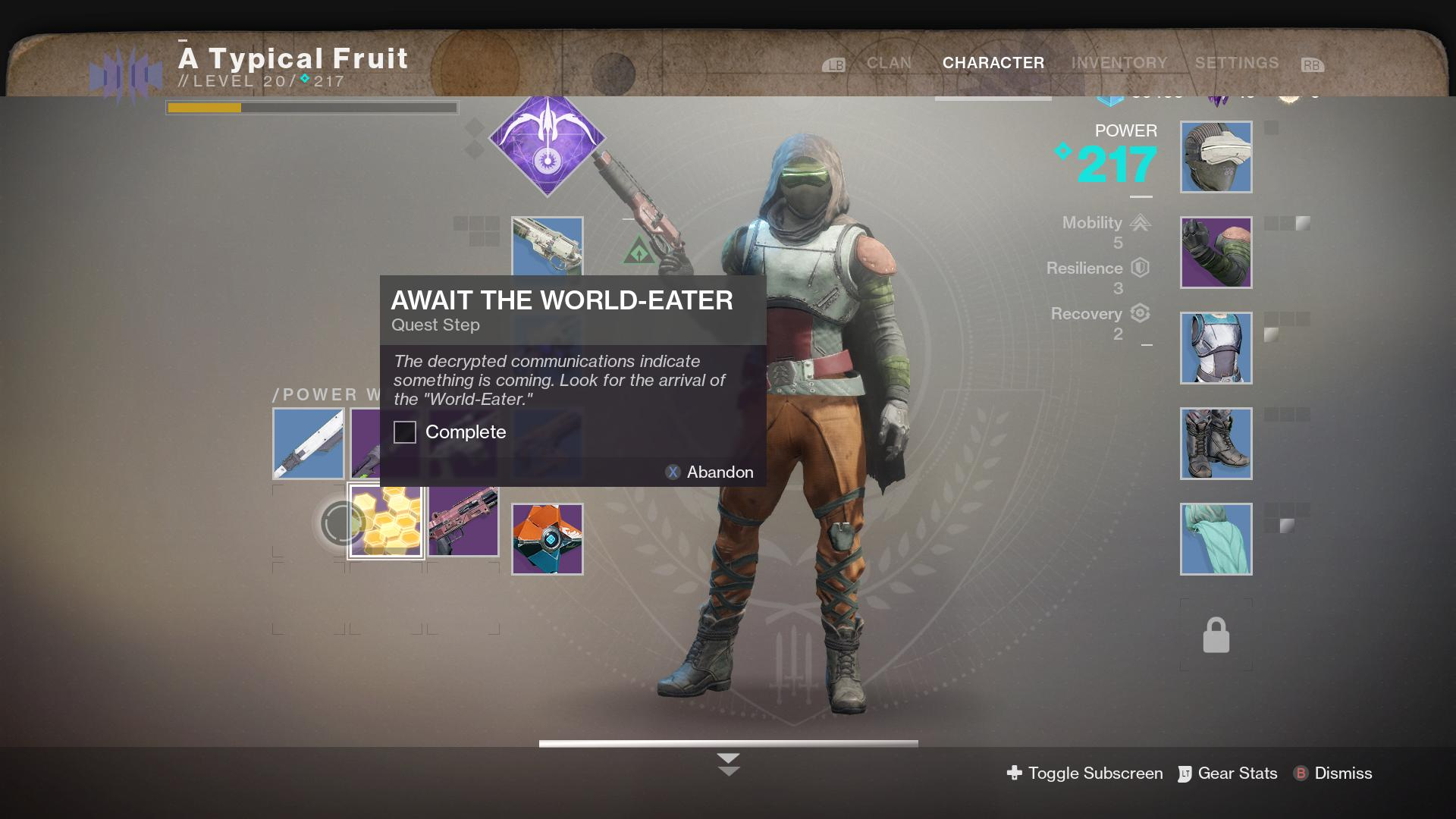 Destiny 2 World-Eater Quest Guide - How to Complete On the Comms