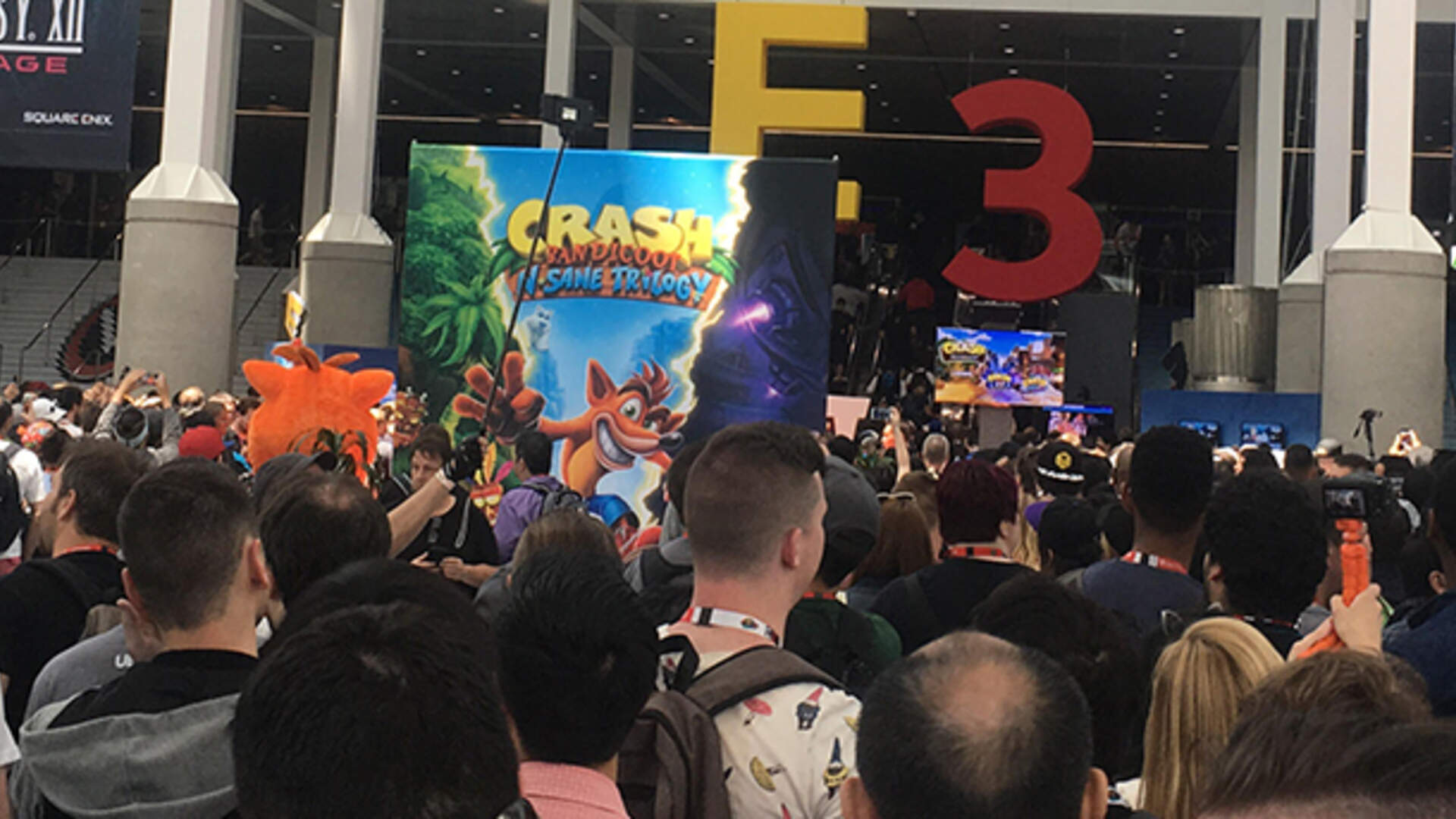 E3 2017 Was Predictably Crowded and Difficult to Navigate on Its First Public Day