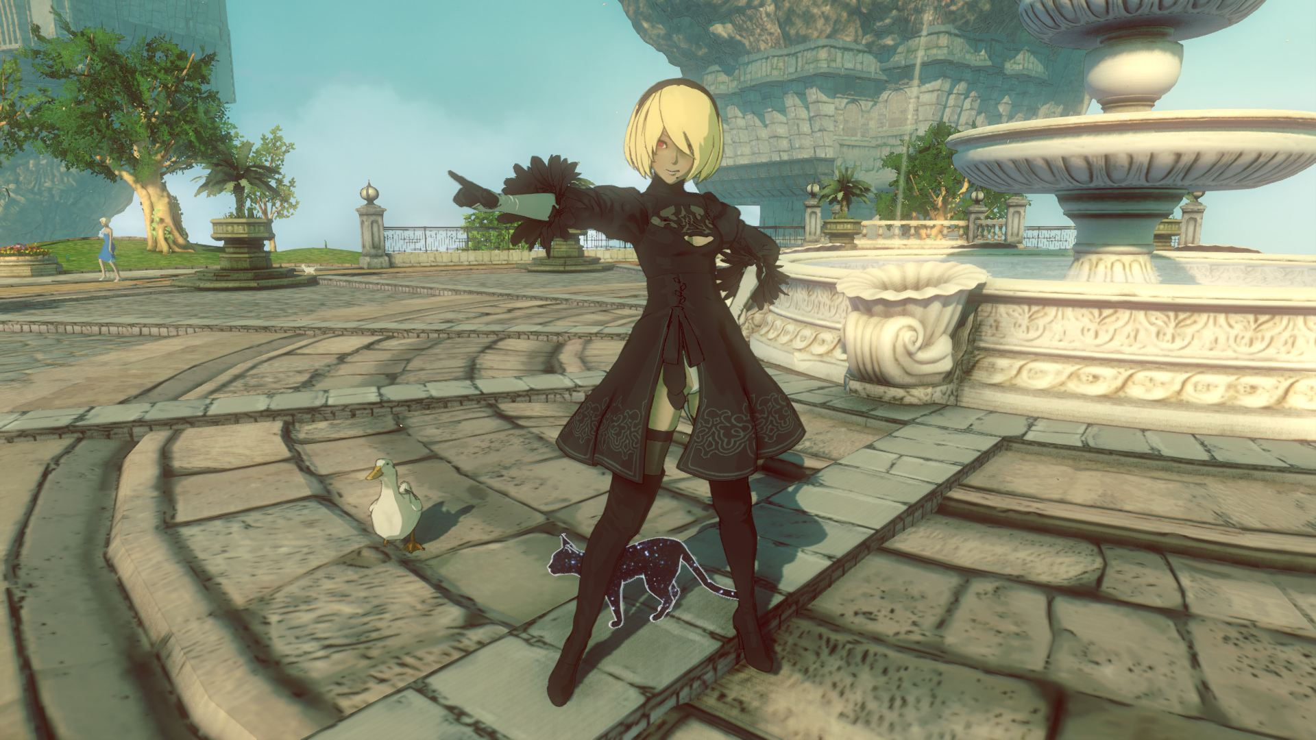 Premise Indicator Words: Gravity Rush 2 Gets Nier: Automata Crossover DLC