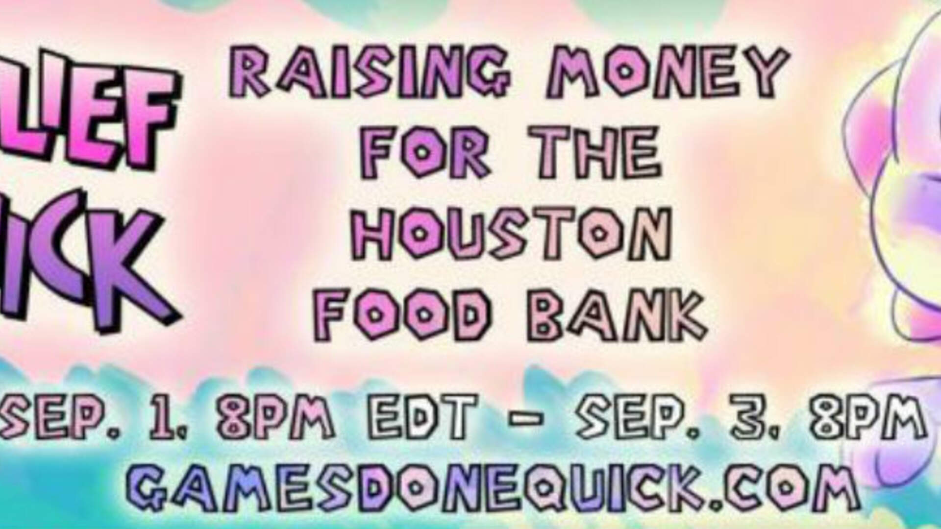 Games Done Quick Raises Lots of Cash for the Houston Food Bank