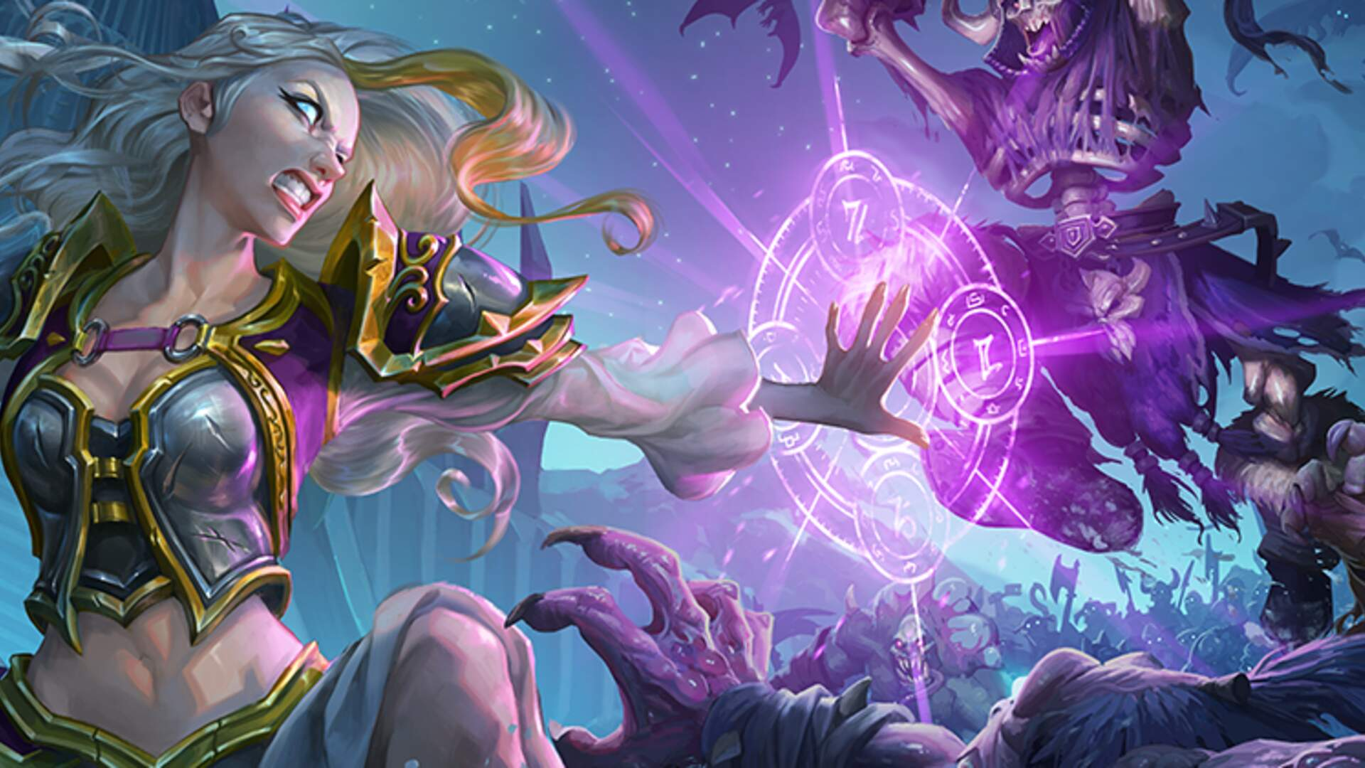Hearthstone's Newest Expansion, Knights of the Frozen Throne, Adds New Hero Cards, Lifesteal, and Free Missions