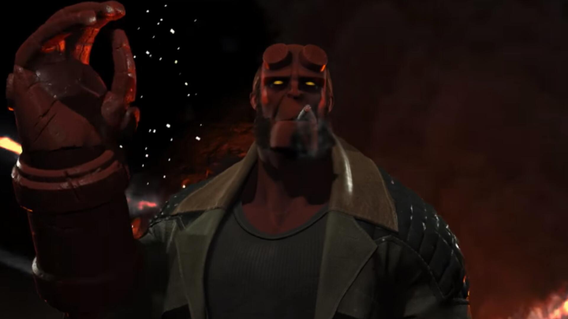 Hell Yeah, Injustice 2 Adds Hellboy to the Roster