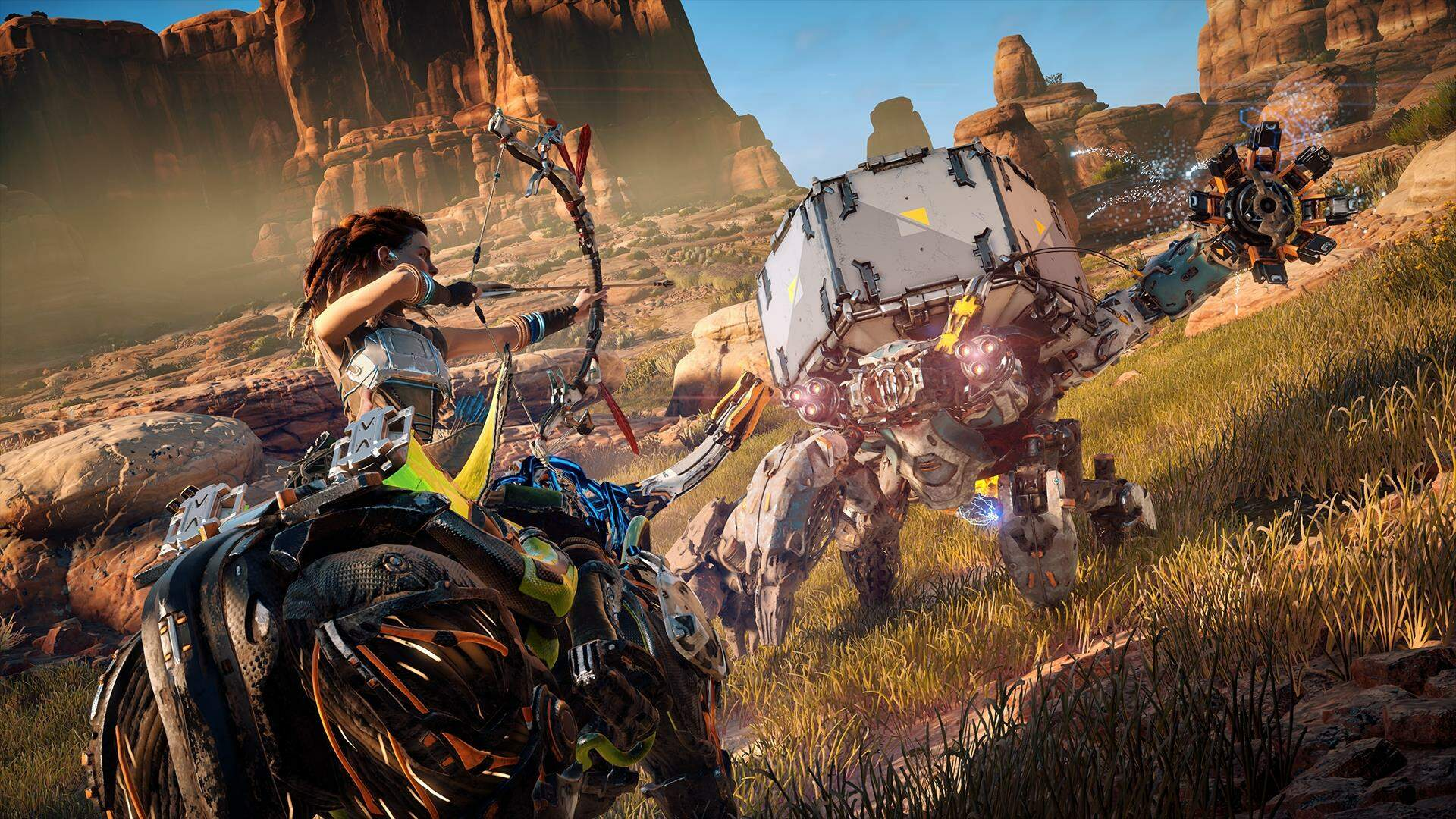 Horizon Zero Dawn Guide: How to Override Machines and Ride Mounts