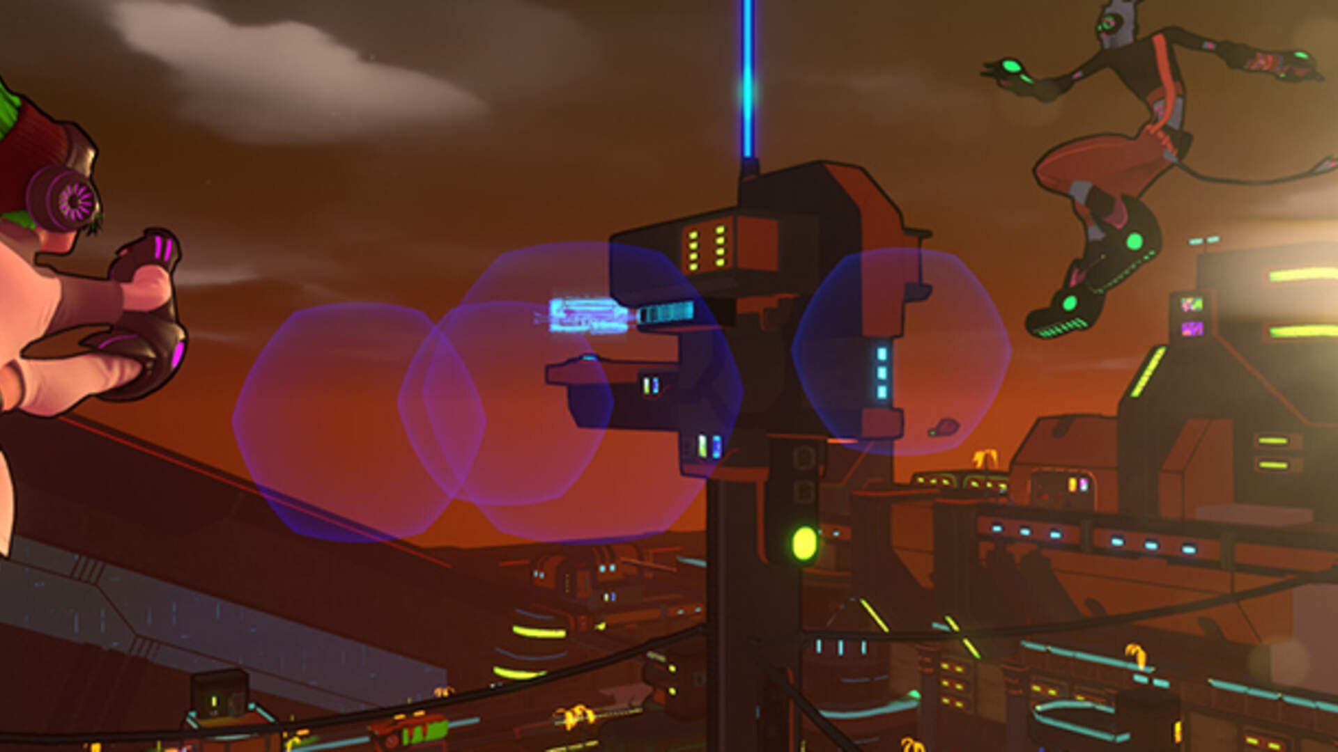 Jet Set Radio-Inspired Parkour Game Hover: Revolt of Gamers out Next Month
