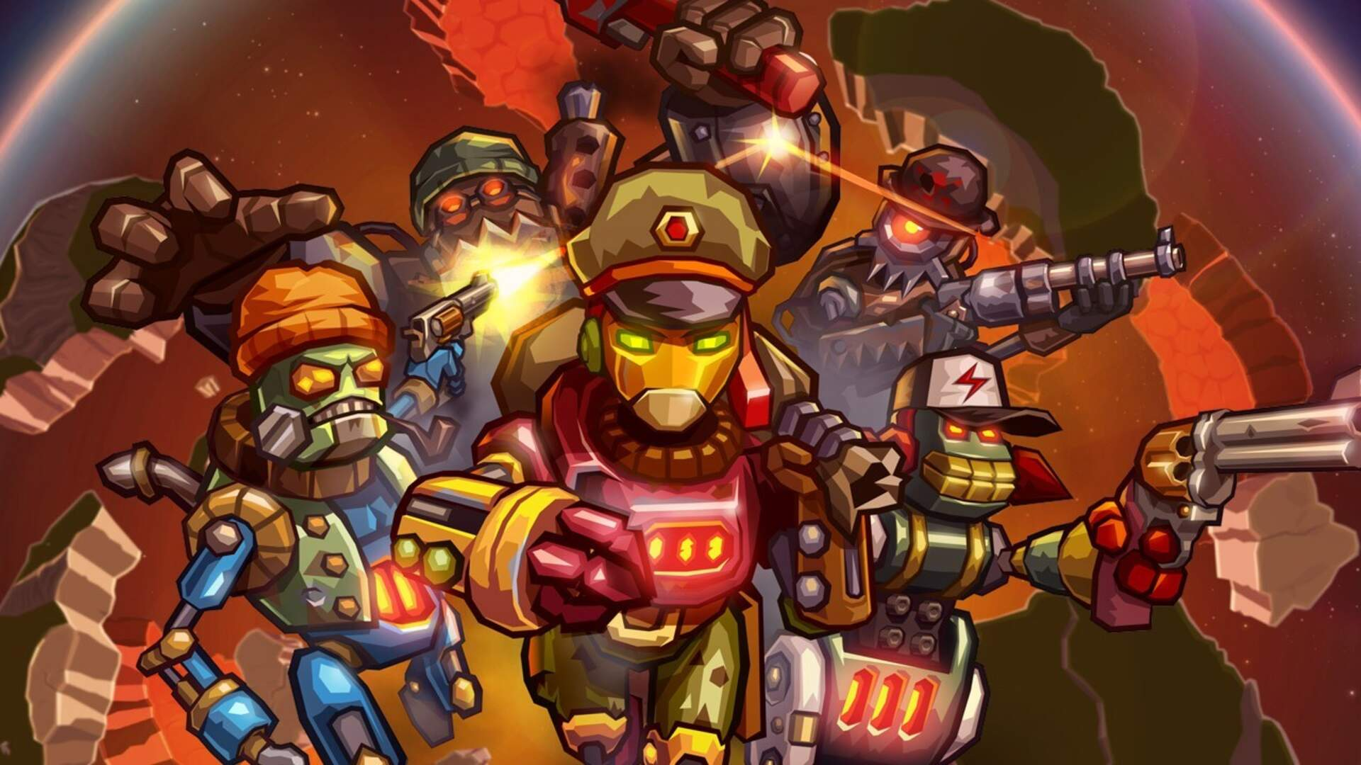 More SteamWorld Games Are Coming, and We'd Drink Motor Oil for SteamWorld Heist 2