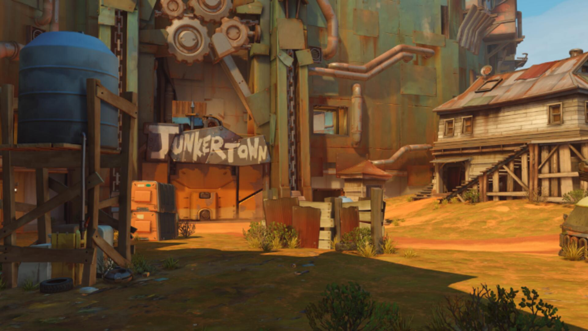 Blizzard Reveals New Overwatch Map, Junkertown, and a Potential New Character