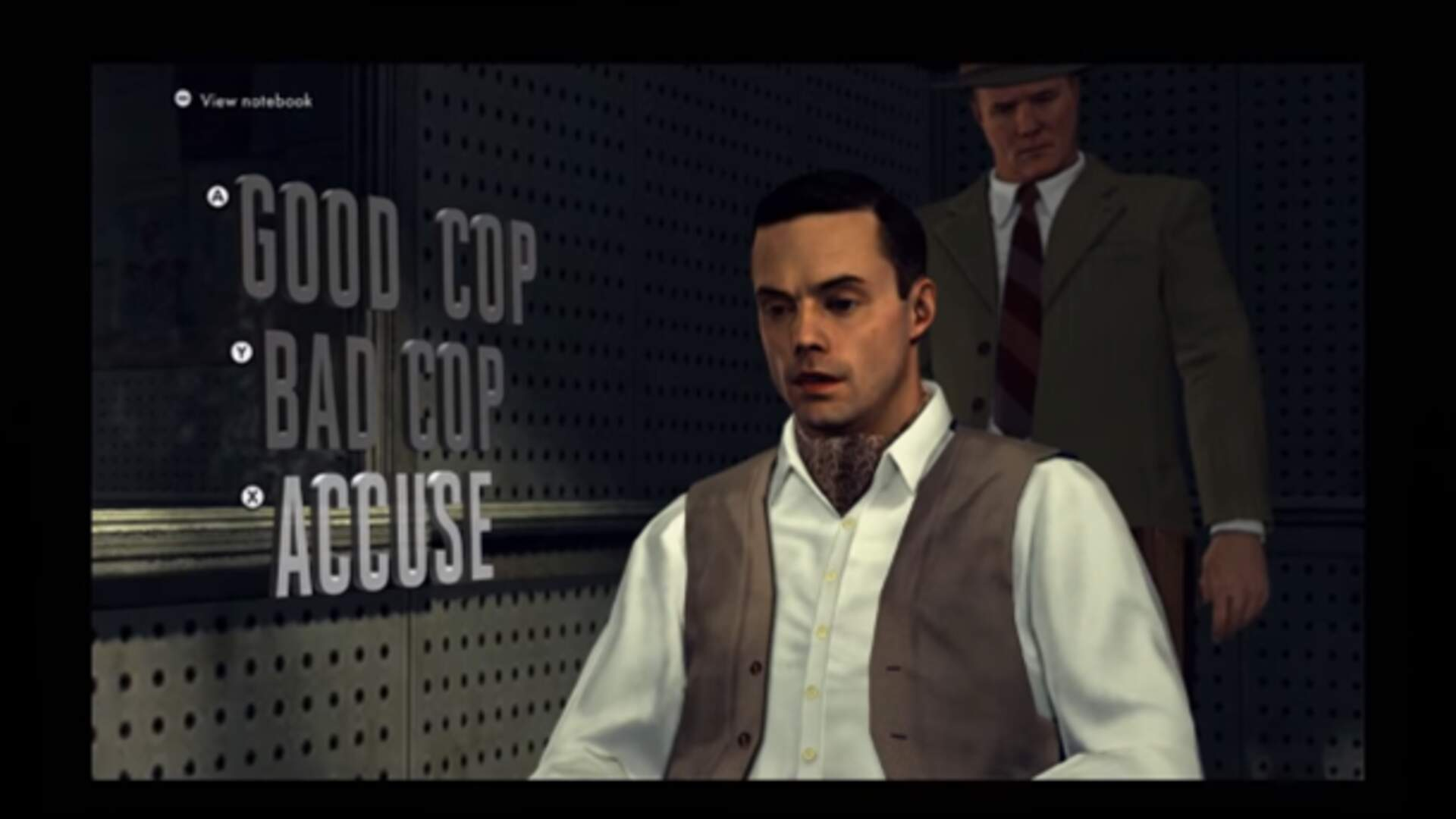 L.A. Noire's Remaster Has Changed Its Integral Interrogation Prompts