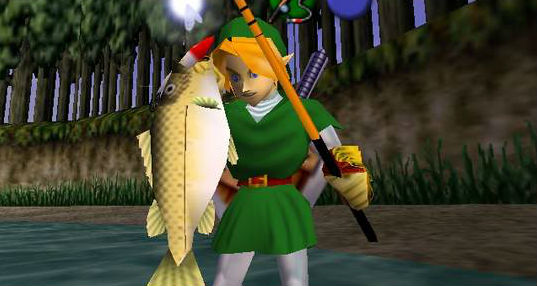 Ocarina of Time's Link Is (Maybe, Probably) Based on