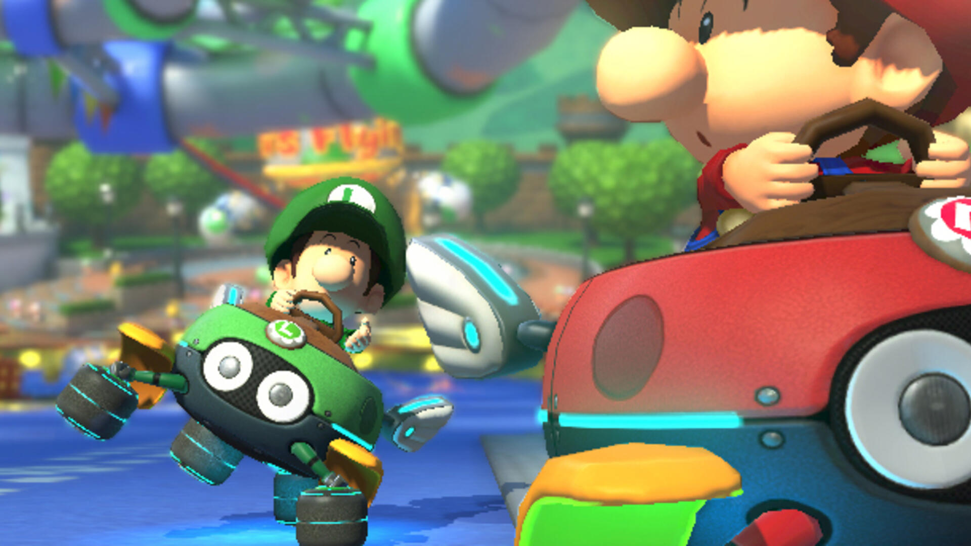 Baby Park Encapsulates the Chaos of Mario Kart