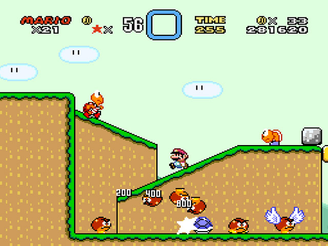 Super Mario world snes gameplay