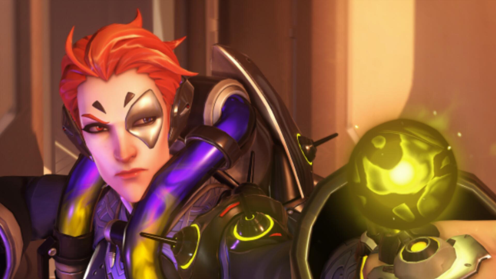Overwatch's New Hero Moira Is Live on Servers Now