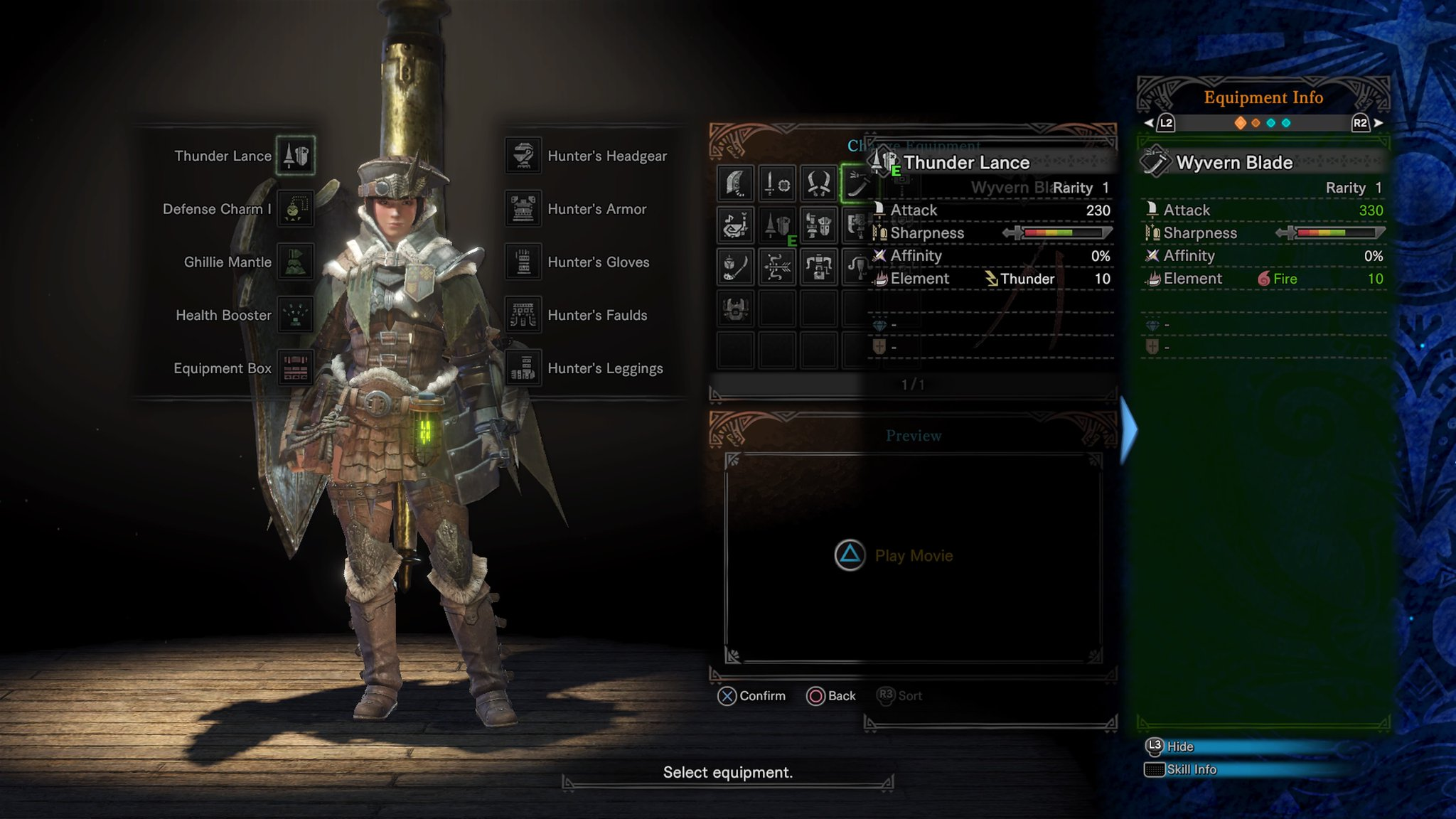 mhw thunder weapons