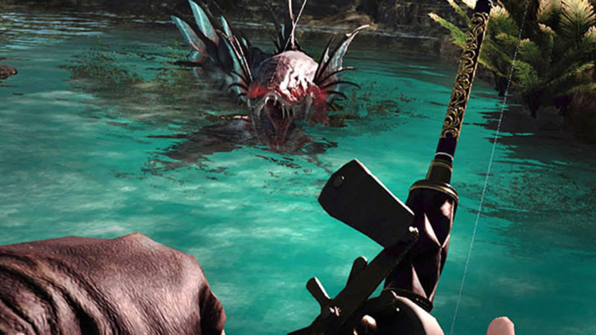 In Final Fantasy XV: Monster of the Deep, Fish Are Friends, Not Food