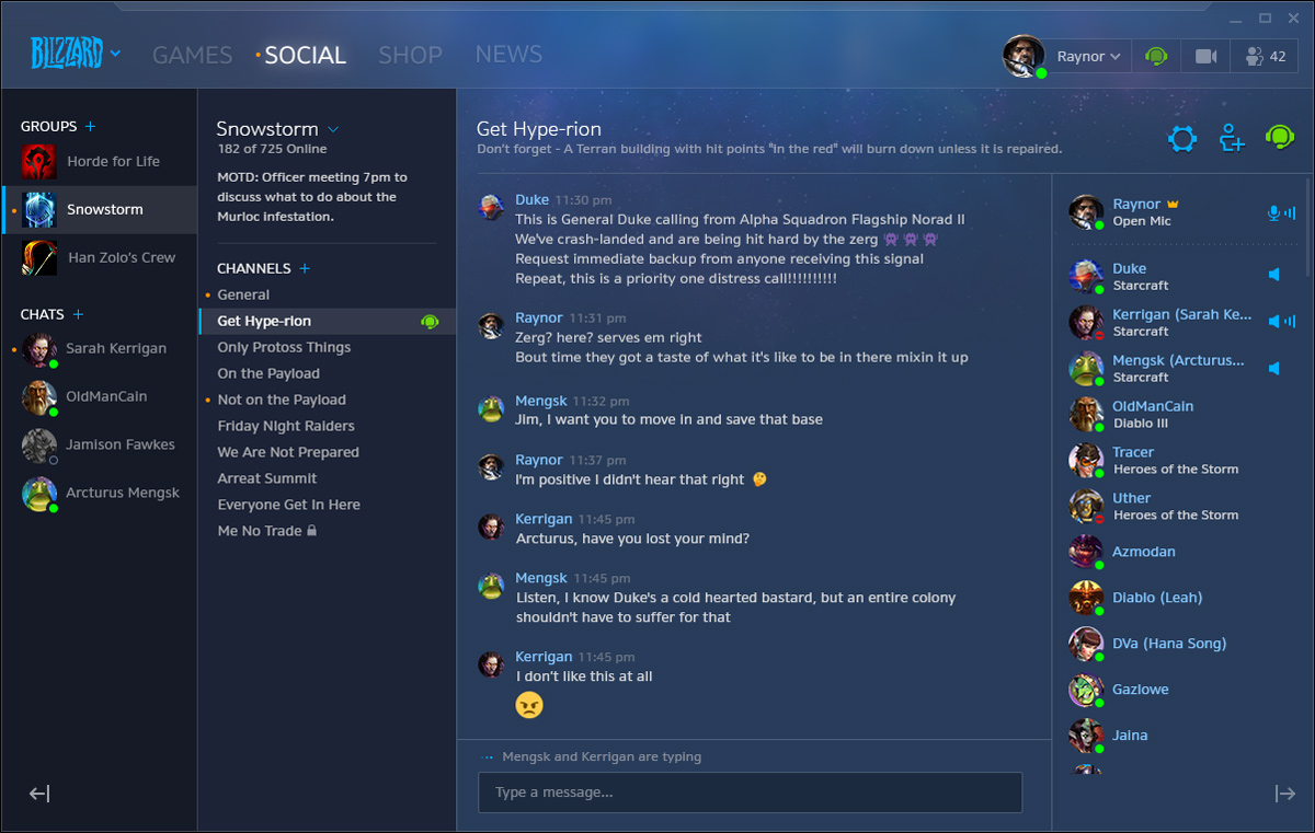 Battle net Gets Some New Social Features Like Voice Chat and Social