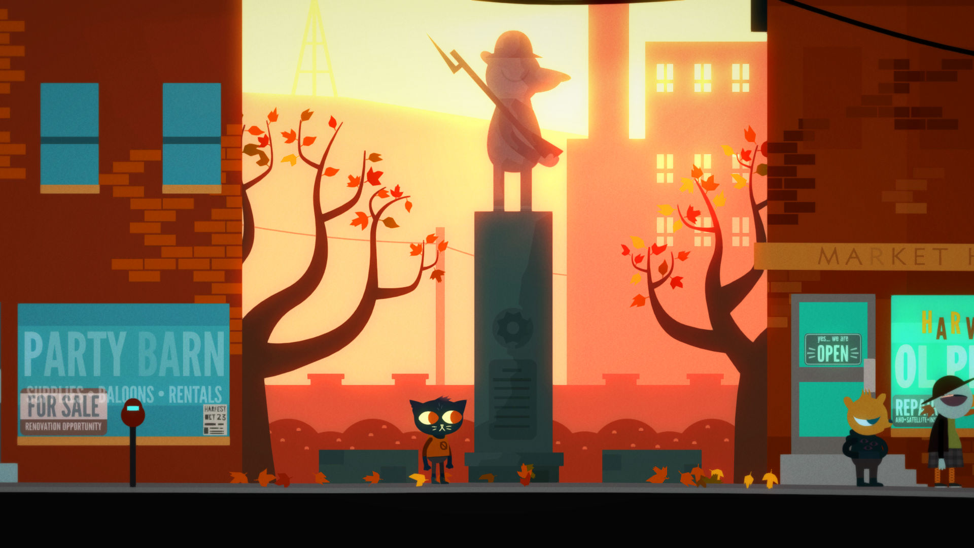 Night in the Woods' Scariest Monster is the War Between
