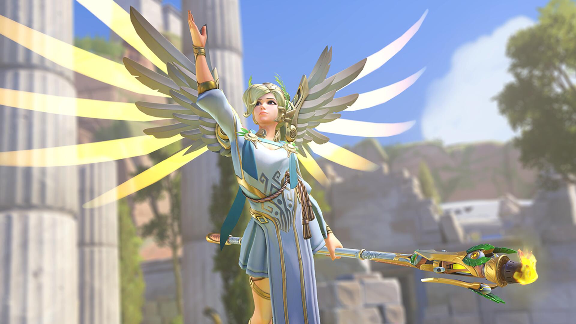 """Overwatch Players Are Scared of Mercy's New Power, While Wondering Why D.Va's Missiles Aren't """"Anime"""" Enough"""