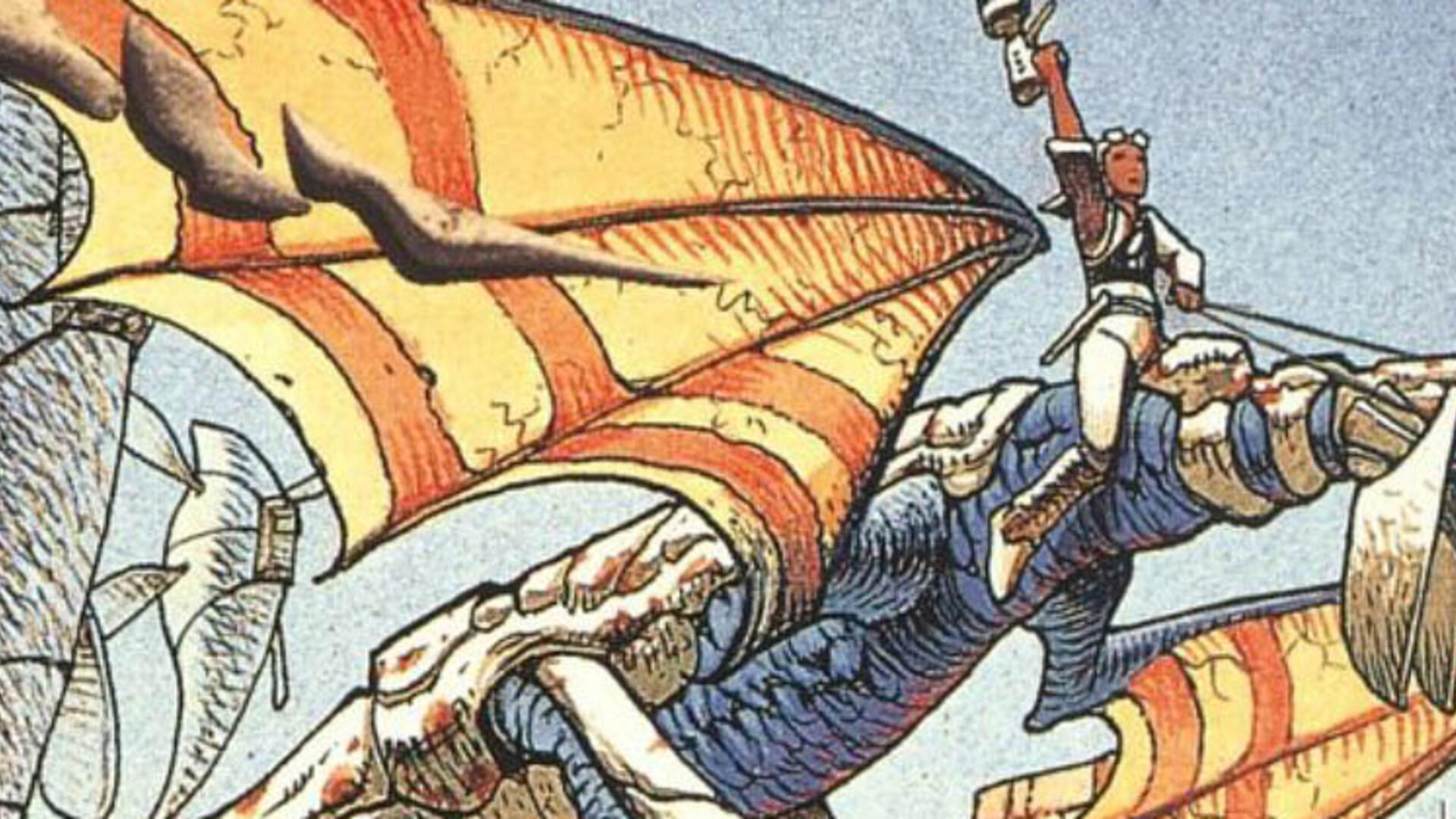 Panzer Dragoon Creator Reveals the Original Idea for the Series, and It's Even Weirder Than You'd Expect