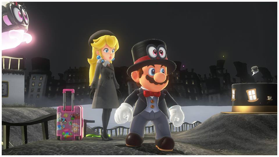 hook up mario and peach