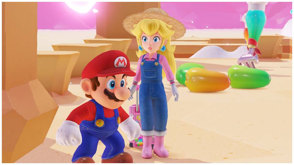 Check Out Princess Peach S Adorable Outfits From Super