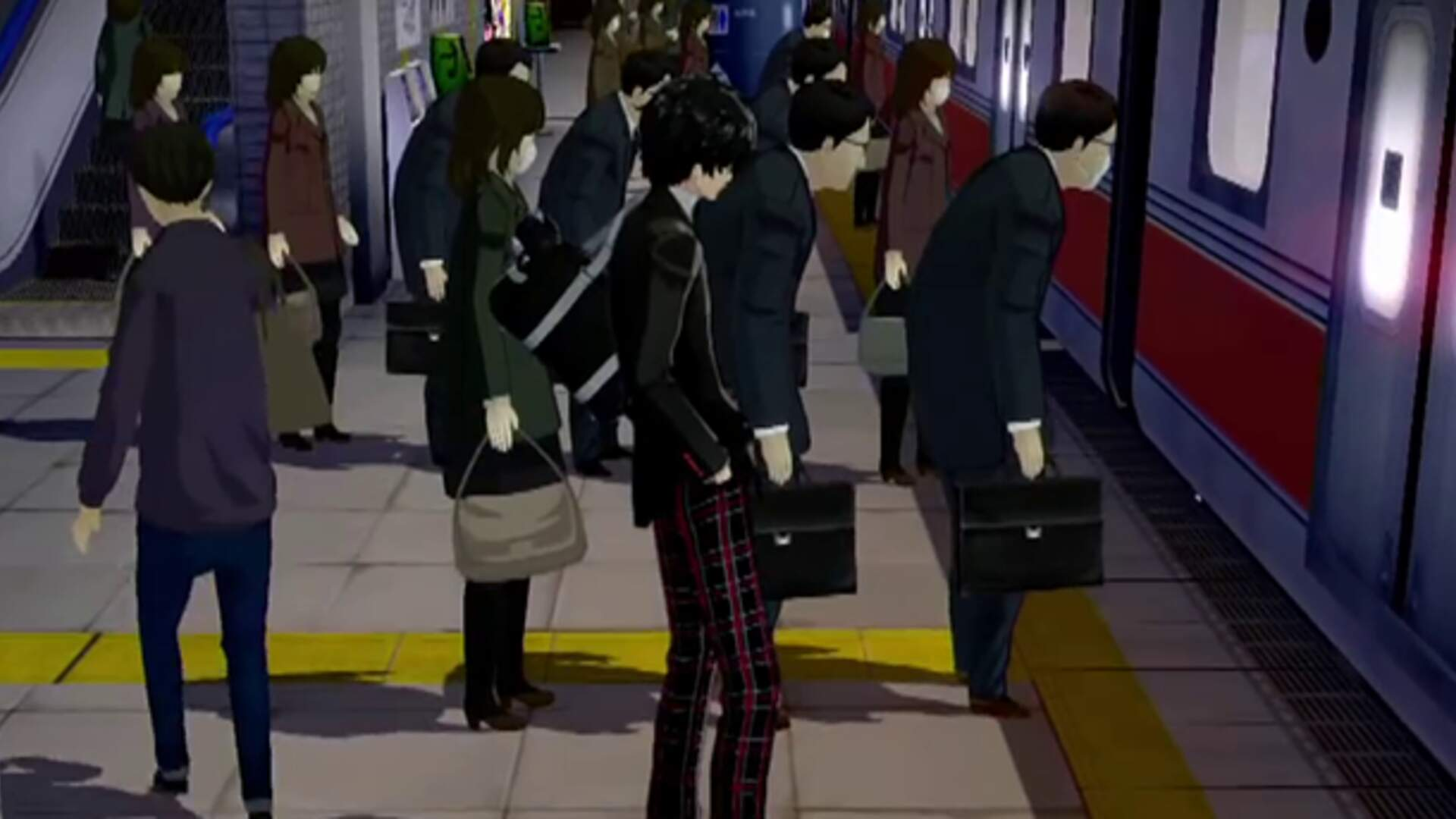 Persona 5's Opening Labyrinthine Trek Through Shibuya Station Invites You to Get Lost