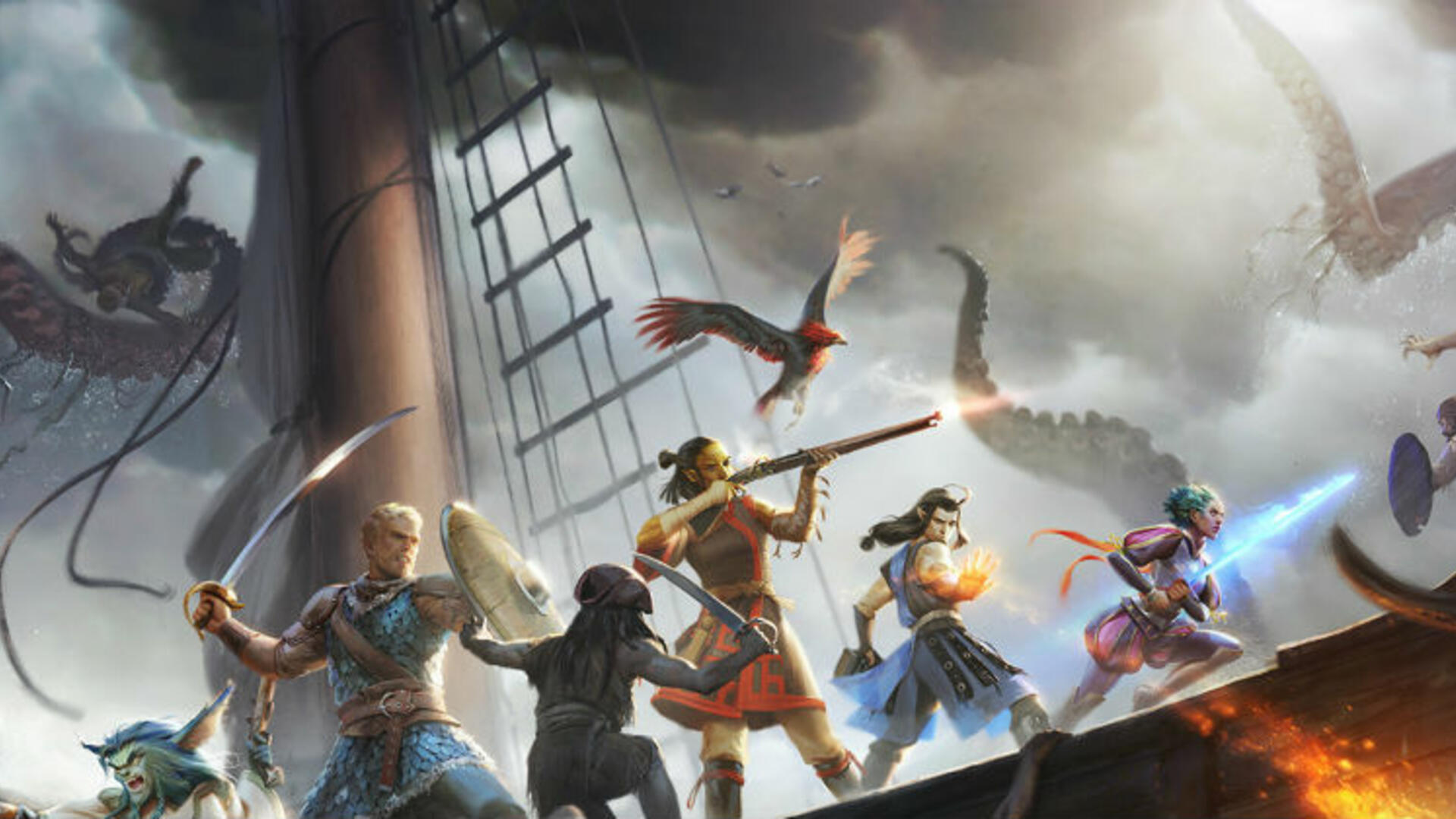Axe of the Blood God: Obsidian's Josh Sawyer Joins Us to Dive Deep Into Pillars of Eternity 2: Deadfire